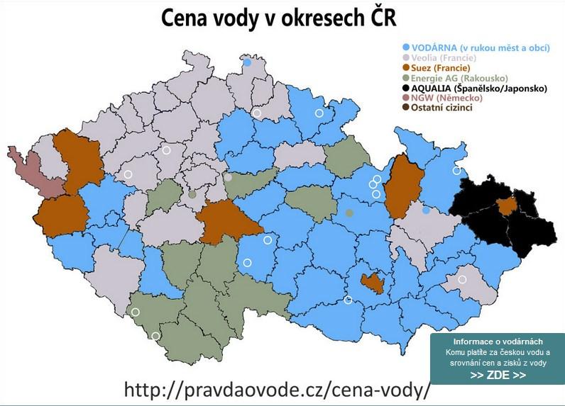 Kdo prodává českou vodu?
