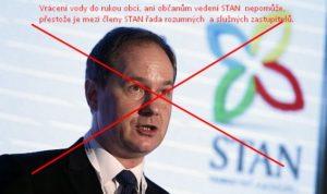 Jak to, že panu Gazdíkovi a Adámkovi (STAN) nevadí stamilóny od lidí na účtech Veolie?