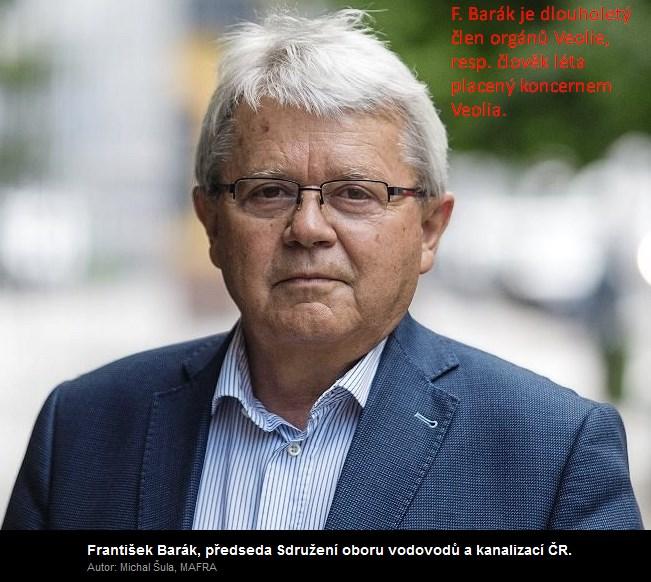 """Koncernový """"lobbista"""" p. Barák říká: Mělo by se platit i za odvod dešťové vody"""