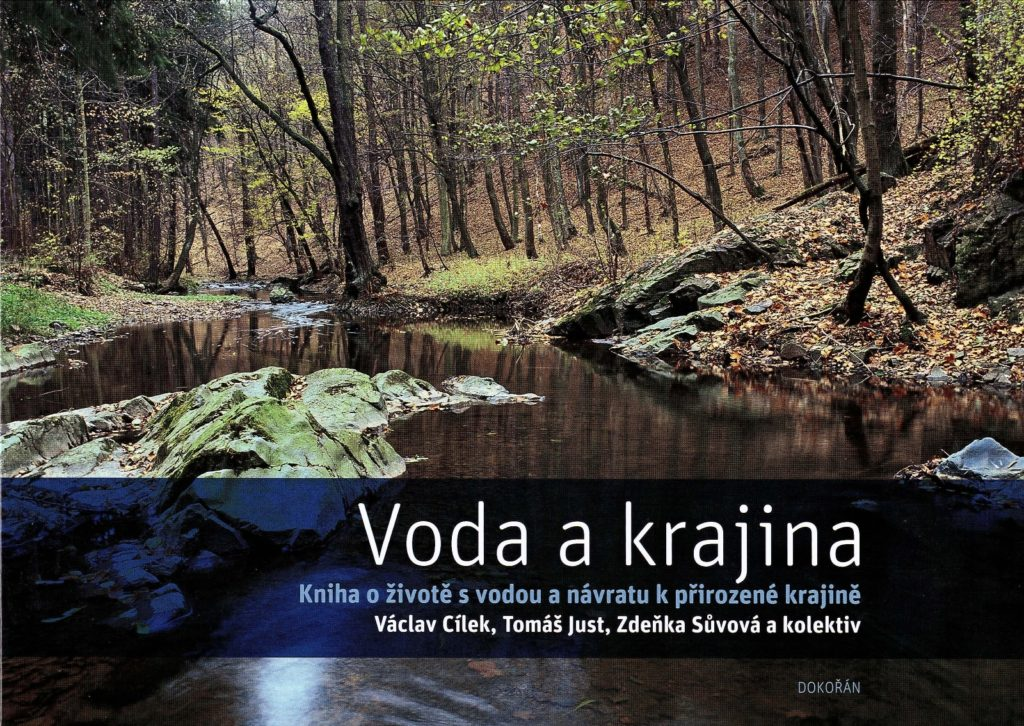 Kniha - voda a krajina