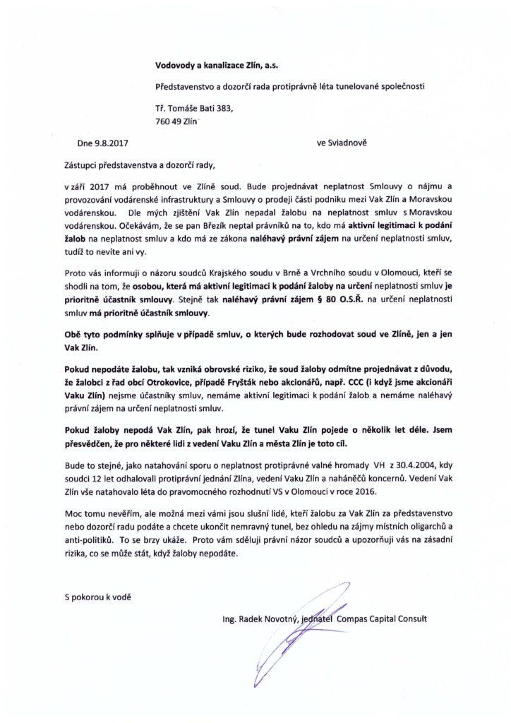 9.8.17- vaku zlín- aktivní legitimace a právní zájem