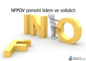 NFPoV: Informovanost pomáhá občanům ve volbách