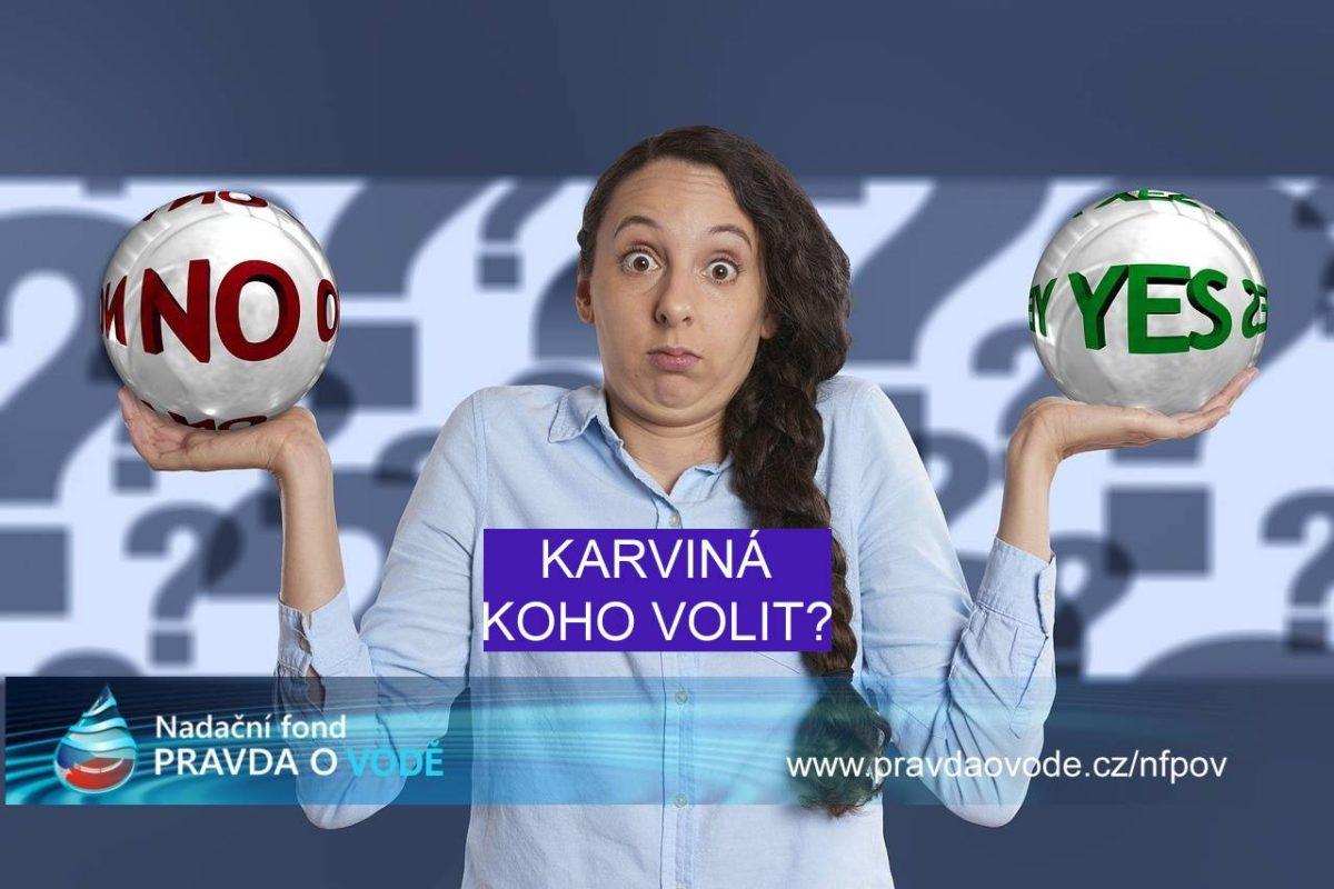 Karviná – Kdo má mít v ČR v rukou vodu, její správu a rozhodování o vodě?