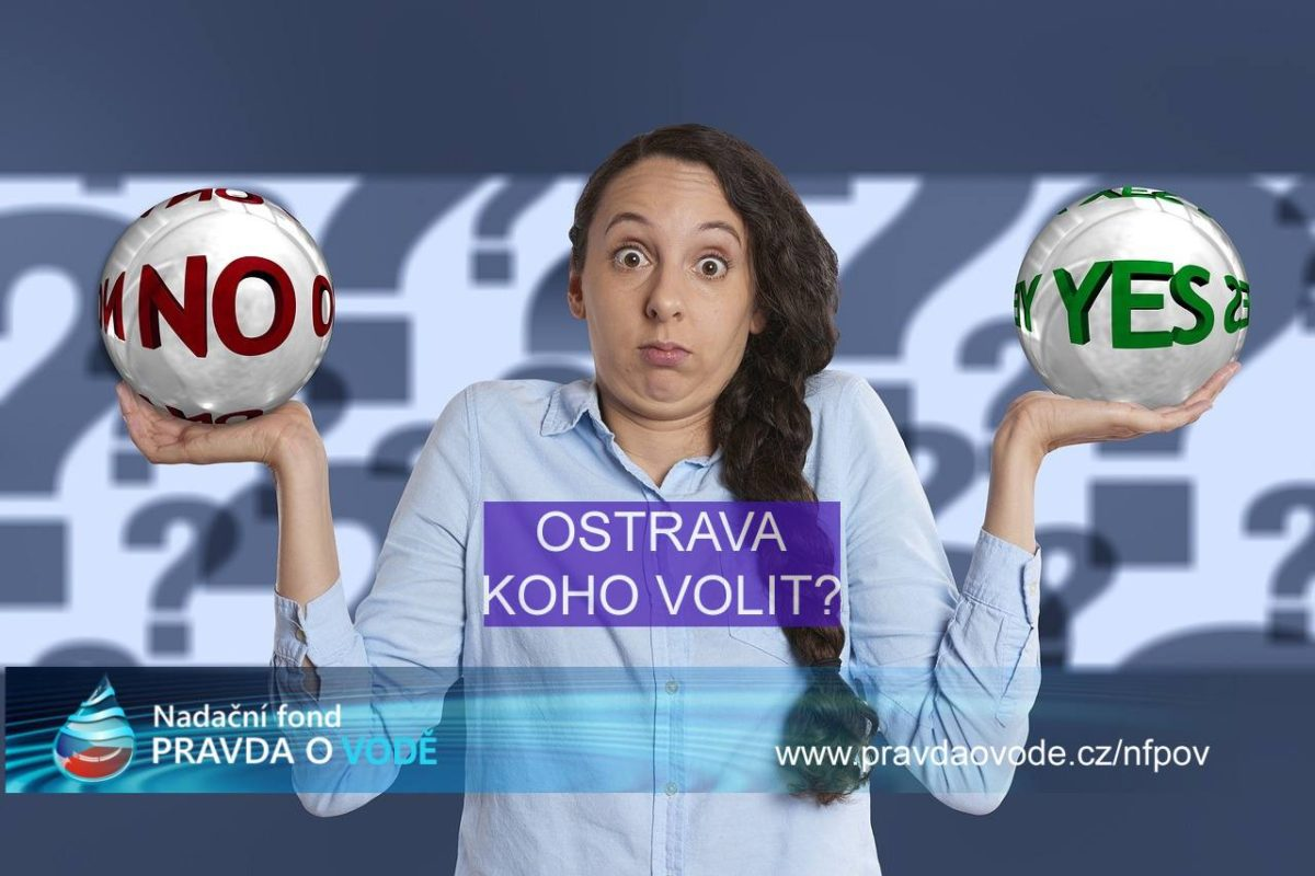 Ostrava – Kdo má mít v ČR v rukou vodu, její správu a rozhodování o vodě?