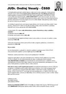 Veselý - odpověď poslanec ČSSD - J. Čechy_Stránka_2