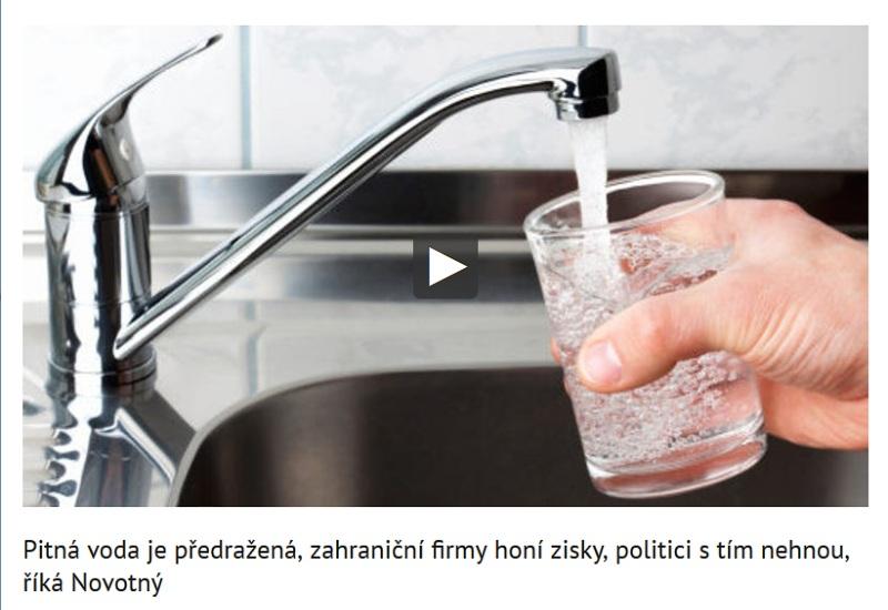 Veselovský a Novotný o vodě