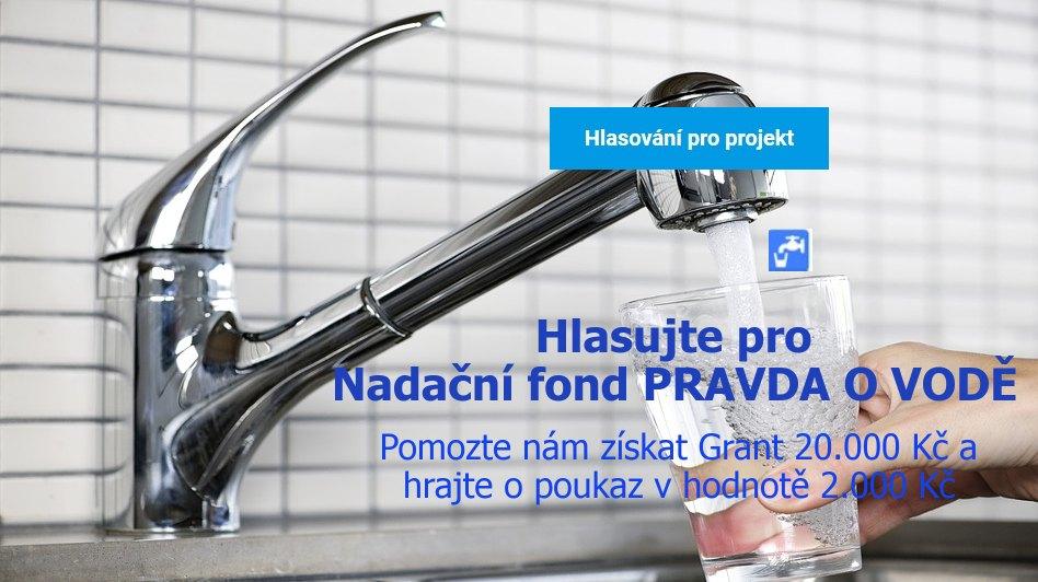 Věnujte 5-10 minut vodě a dejte HLAS Nadačnímu fondu PRAVDA O VODĚ