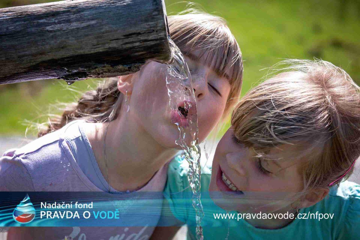 Voda je život a potřebuje ji k životu každý