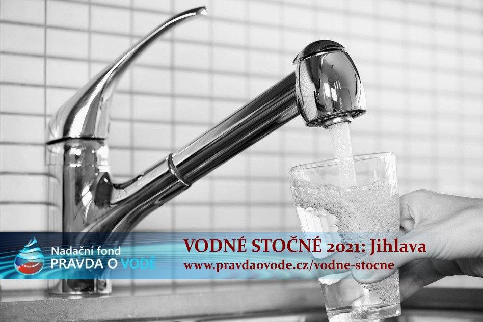 Vodné stočné 2021: Město Jihlava a region Jihlavy