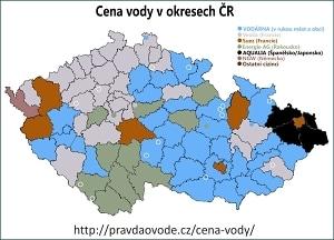 Cenová mapa - pravdaovode.cz