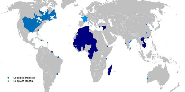 Francouzské kolonie v minulosti