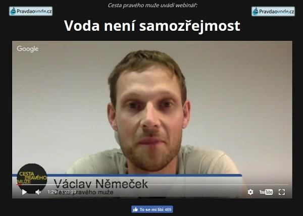 WEBINÁŘ - VODA NENÍ SAMOZŘEJMOST 1.9.16